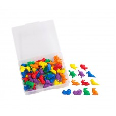 Counters Colourful Pet Shapes Pack of 72 | Maths Toy – Sensory Wise