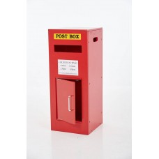 Wooden Red Post Box | Christmas Wooden Toy Furniture – Sensory Wise