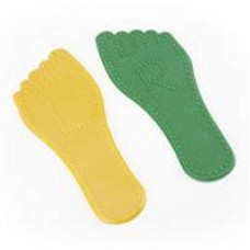 Foot Print Floor Marker Small Size 6 Pairs | Sports Equipment – Sensory Wise