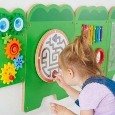 Wooden Crocodile Activity Wall Toy   Wall Panel – Sensory Wise