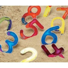 Tactile Squidgy Sparkle Numbers Set | Fine Motor Skill Toy – Sensory Wise
