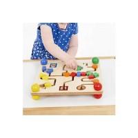 Wooden Shape Labyrinth Maze Board   Fine Motor Skill Toy – Sensory Wise