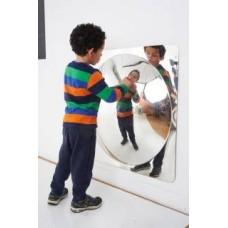Acrylic Mirror Single Convex Bubble 78cm | Mirror Panel - Sensory Wise