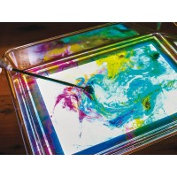 A3 Clear Play Tray | LED Light Panel Accessory - Sensory Wise