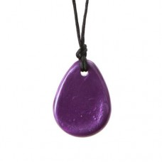 Chewigem Purple Raindrop Pendant | Sensory Chew Toy – Sensory Wise