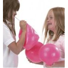 Pink 16cm Puffy Straw Inflatable Ball | Sports Equipment – Sensory Wise