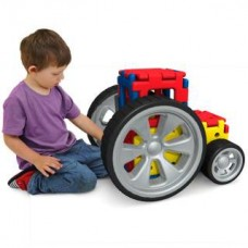 Giant Polydron Vehicle Builders Set | Construction Toy – Sensory Wise