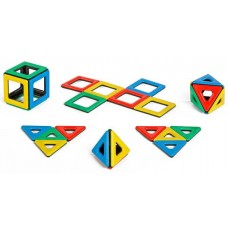 Magnetic Polydron Set | Construction Toy – Sensory Wise