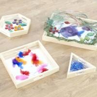 Mirror Tray Set of 4 Visual Toy | Sensory Toy – Sensory Wise