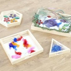 Mirror Tray Set of 4 Visual Toy | Sensory Toy – Sensory Wise