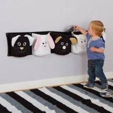 Baby Black & White Posting Pocket Animals | Baby Sensory - Sensory Wise