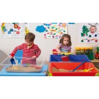 Coloured and Clear Desktop Sand & Water Tray | Play Tray – Sensory Wise