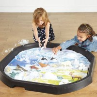 Arctic Winter Tuff Tray Play Mat | Play Tray Accessory – Sensory Wise