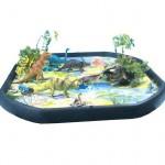 Dinosaur Jurassic Tuff Tray Play Mat | Play Tray Accessory – Sensory Wise