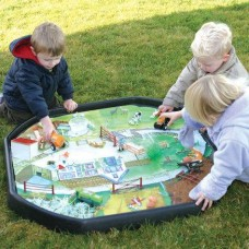 Farmyard Tuff Tray Play Mat | Play Tray Accessory – Sensory Wise