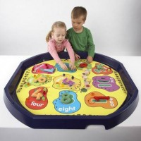 Number Counting Tuff Tray Play Mat | Play Tray Accessory – Sensory Wise