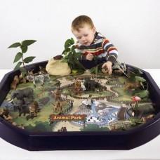Safari Park Tuff Tray Play Mat   Play Tray Accessory – Sensory Wise
