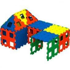 XL Polydron Set 2 Larger Kit | Construction Toy – Sensory Wise