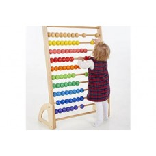 Wooden Giant Bead Abacus   Maths Toy – Sensory Wise
