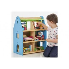 Wooden Dolls Town House Complete Set | Small World Play – Sensory Wise
