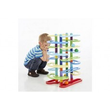 Twin Ball Track Construction Toy | Wooden Puzzle Toy – Sensory Wise