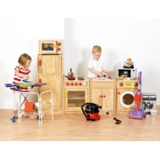 Wooden Role Play Kitchen Set | Small World Play - Sensory Wise