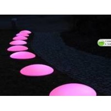 Flat Pebble Colour Change LED Light Up Dome Shape | Sensory Room – Sensory Wise