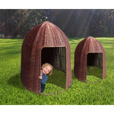 Large Dome Plastic Willow Den | Play Room Sensory Garden - Sensory Wise