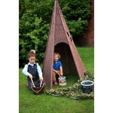 6 Panel Wigwam Plastic Willow | Play Room Sensory Garden - Sensory Wise