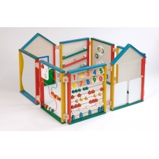 Wooden Play Panel System   Construction Toy – Sensory Wise
