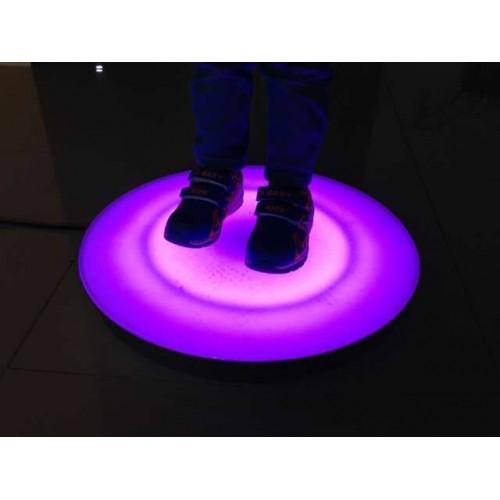 Interactive Light Up Round Floor Tile 30cm| Sensory Room - Sensory Wise